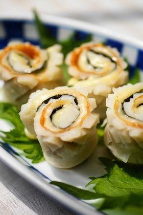 お弁当に✿ちくわで海苔✿チーズ