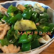 ご飯が進む♫甘味噌ダレのピーマンなす炒めの写真