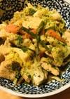鶏肉と野菜の炒め煮●甜麺醤&あわせ味噌味
