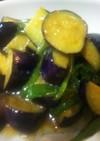 簡単美味・茄子とピーマンの白味噌炒め