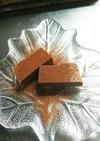 材料3つ 豆腐でヘルシーテリーヌショコラ