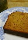 胡桃入りキャラメルパウンドケーキ