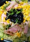 サッポロ一番★おかず海苔コーン冷やし麺