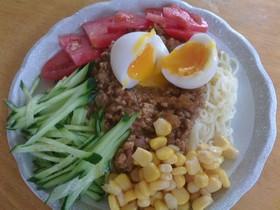 冷やしジャージャー麺☆簡単・スタミナ☆