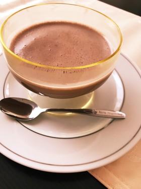 材料3つ!チョコムース