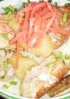 赤魚煮付け丼(血管ダイエット1385)