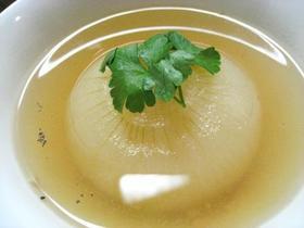 まるごと!新玉葱のスープ