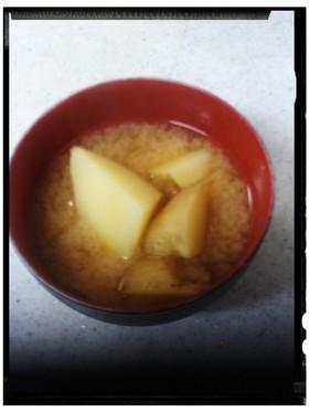 ジャガイモの味噌汁