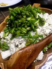 ダイエット!豆腐とネギの簡単おかずの写真