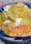 強力粉の発酵パンケーキ