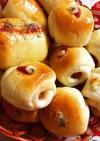 HB】プチウインナーロールパン★一口パン