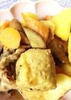 丸がんもと根菜と馬鈴薯の煮
