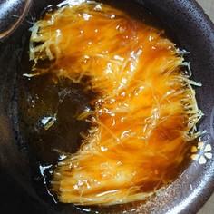 ジャガイモのフカヒレ風煮込み