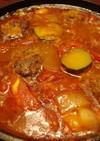 夏野菜のラタトゥイユ風デミバーグシチュー