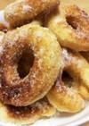 小麦粉とベーキングパウダーで簡単ドーナツ
