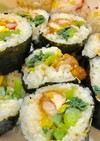 〜簡単巻き寿司*2種〜