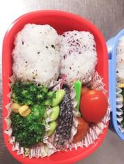 (年長)娘(年少)息子のお弁当3の写真