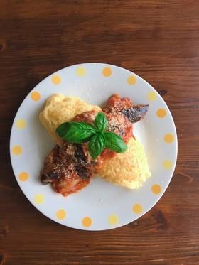 作り置き!揚げ焼きナスのトマト煮