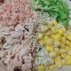 汁なしサラダ冷麺