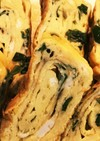 弁当作り置き:ニラ入り卵焼き