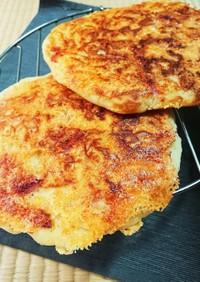 朝食★ベーコンとチーズのパンケーキ☆HM