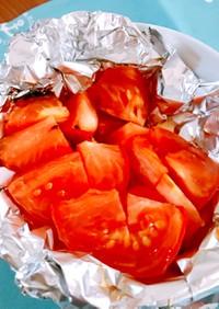 *焼きトマト♪魚焼きグリルであま〜く*