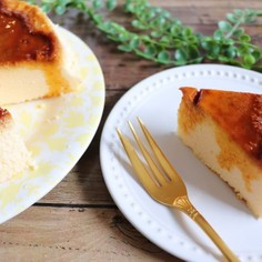 簡単!材料4つ!プリンチーズケーキ
