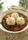 コーンご飯とレタスのハヤシライス