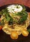 『銀鮭卯の花和え』のスパゲティ