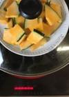 フライパンで!簡単♡蒸しかぼちゃ