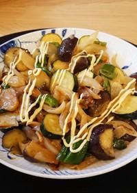 【マヨで旨い】たっぷり野菜のマヨ炒め
