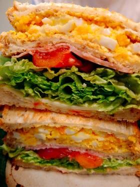 栄養バッチリ☆サンドイッチ