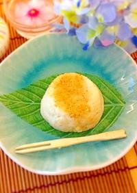 わらび餅粉で簡単☆豆乳胡麻豆腐
