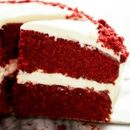 赤いチョコレートケーキ♪レッドベルベット