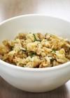 ツナと舞茸の炊き込みご飯