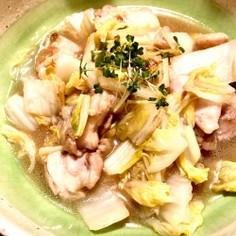 白菜と鶏肉のさっトロ煮