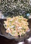 簡単、白菜のツナサラダ。