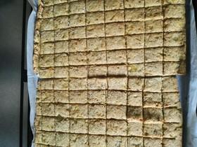 砂糖不使用カリカリ玉ねぎおからクッキー