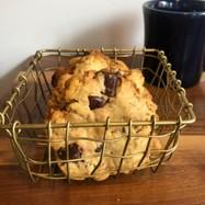 チョコとコーンフレークのクッキー