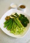 フォトジェニックな彩りサラダ♪ グリーン