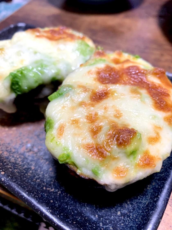 【糖質オフ】アボカドのチーズ焼き