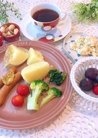7月第3週 朝食献立 低糖質 糖質制限