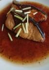 豚の角煮の残り汁でぶりの照り焼き