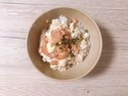 【花のズボラ飯】明太豆腐丼の写真