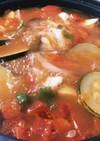 チキンと夏野菜たっぷりのスープ