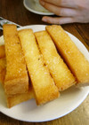 スペインの揚げ菓子ピカトステ