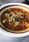 激うま 豚ひき肉とエビの春雨スープ