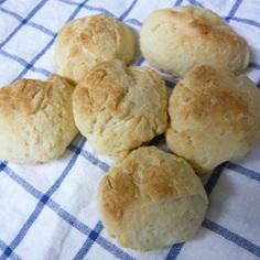 イーストいらず♪ヨーグルト風味のパン