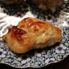 鶏皮チーズッキーニ