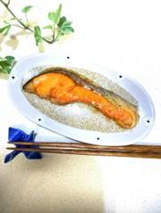 塩鮭の照り焼き。:*:★の写真